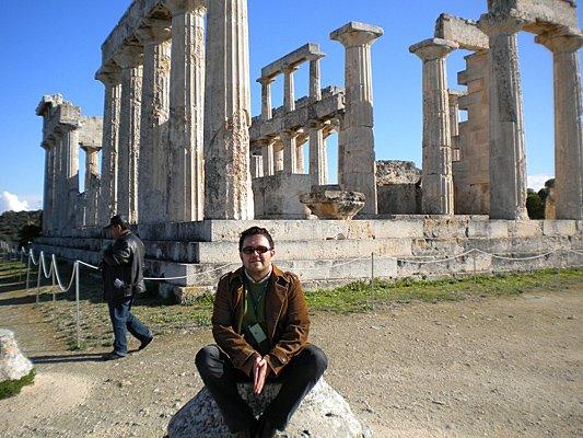 Wyspa Egina, zatoka Sarońska. Świątynia Afai
