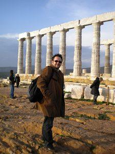 Sunio, Attyka, świątynia Posejdona