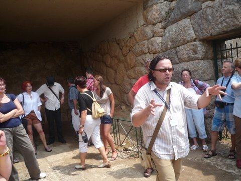 Wyrocznia zmarłych w Acherontas, Epir