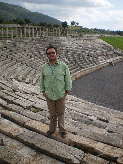 Starożytny teatr w Messini, Peloponez