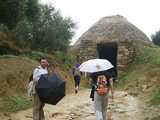 Mykeński grobowiec w Pylos, Peloponez