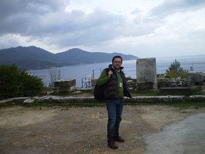 Akropol w stolicy wyspy Thassos