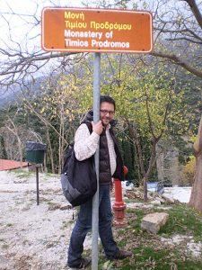 Klasztor Timios Prodromos, Serres, Macedonia