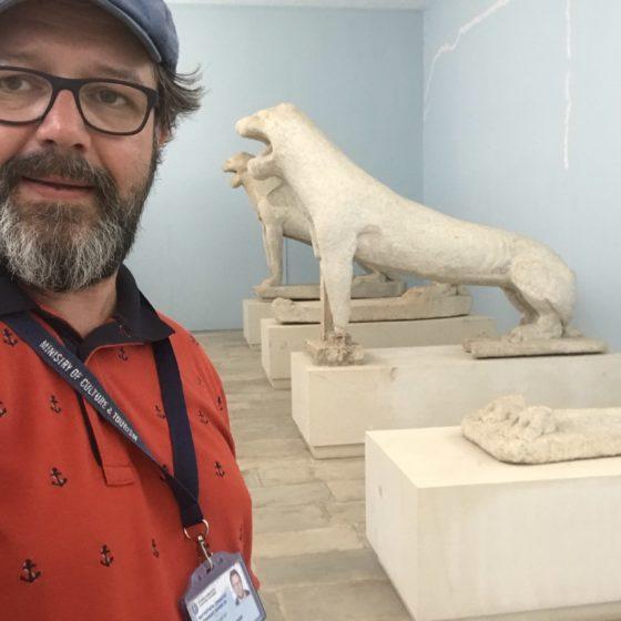 Muzeum Archeologiczne na Delos, Cyklady